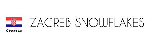 Croatia Zagreb Snowflakes