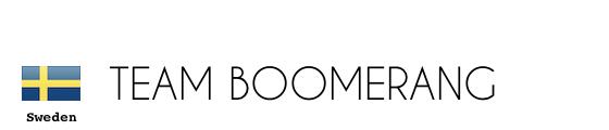 Sweden Team Boomerang