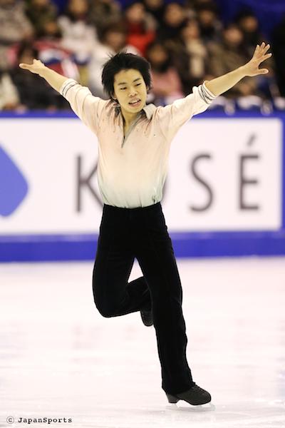 Daisuke ISOZAKI 磯崎大介選手 © JapanSports
